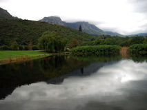 South African Winelands Stock Images