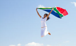 South african woman Royalty Free Stock Images