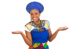 South african woman Stock Images