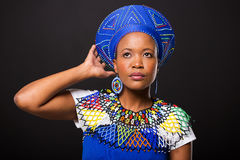 South african woman traditional Royalty Free Stock Images