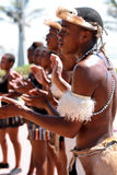 South African Zulu Dancer Royalty Free Stock Images