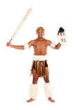 South african zulu warrior Stock Photo