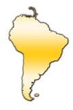 South America översiktsöversikt arkivbilder