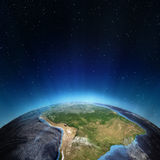 South America. Elements of this image furnished by NASA Stock Images