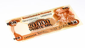 South America currancy banknote Royalty Free Stock Images
