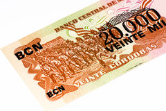South America currancy banknote Stock Photography