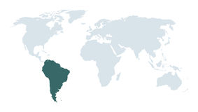South america facts background Stock Images