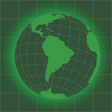 South America green Stock Image