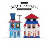 South America house style -  Royalty Free Stock Photography