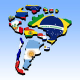 South America 3 Royalty Free Stock Photography