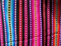 South America Indian woven fabrics Royalty Free Stock Photos