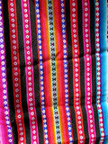 South America Indian woven fabrics Royalty Free Stock Photo
