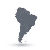 South America map  background . Modern Vector Stock Photography