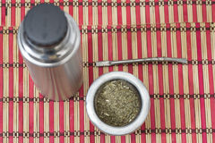 South America Mate. South America, yerba mate drink Stock Images