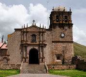 South America, Peru, Catedral de Chucuito Stock Photo