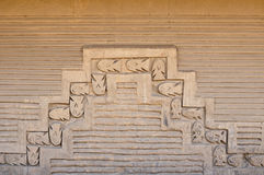 South America, Peru, Chan Chan ruins near Trujillo Royalty Free Stock Images