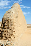 South America, Peru, Chan Chan ruins near Trujillo royalty free stock photos
