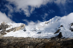 South America, Peru, Cordillera Blanca mountains Royalty Free Stock Photography
