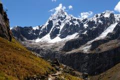 South America, Peru, Cordillera Blanca mountains Royalty Free Stock Images