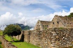 South America - Peru, Inca ruins of Choquequirao Royalty Free Stock Photography