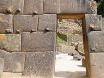 South America, Peru, Ollantaytambo Inca fortress Stock Image