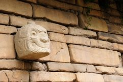 South America, Peru, Ruins of the Wari & x28;Huari& x29; Culture, Peru royalty free stock image