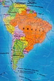 South America puzzle Royalty Free Stock Photography