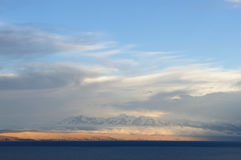 South America, Titicaca lake, Bolivia, Isla del Sol landscape Royalty Free Stock Photography