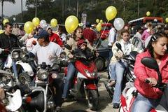 SOUTH AMERICA VENEZUELA COLONAI TOVAR FESTIVAL Royalty Free Stock Photo