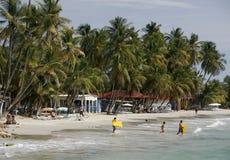 SOUTH AMERICA VENEZUELA ISLA MARGATITA PAMPATAR BEACH COAST Royalty Free Stock Images