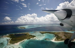 SOUTH AMERICA VENEZUELA LOS ROQUES AIR VIEW Stock Images