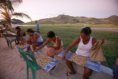 SOUTH AMERICA VENEZUELA LOS ROQUES PEOPLE Stock Images