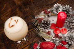 South American Christmas punch royalty free stock photography