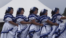 South American Dancers Royalty Free Stock Images