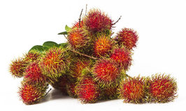 South american exotic fruit. S Lichas isolated Stock Photo