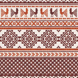 South american fabric ornamental pattern Royalty Free Stock Photo