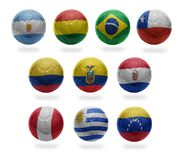 South American Football Royalty Free Stock Images
