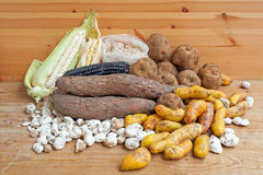 South American Potatoes Stock Images