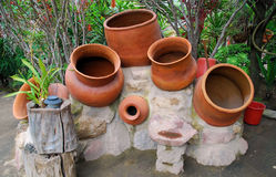South American Pottery Royalty Free Stock Photos