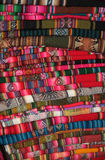 South American traditional fabric Royalty Free Stock Images