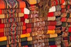 South American traditional fabrics Stock Photo