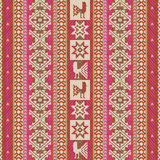 South american traditional textile geometric pattern Royalty Free Stock Images