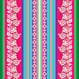 South american traditional textile seamless pattern Royalty Free Stock Photography