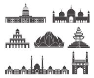 South Asia. Vector Illustration. illustration EPS Stock Images