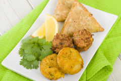 South Asian Starter Selection Stock Images