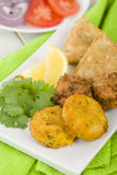 South Asian Starter Selection Stock Image