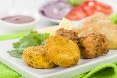 South Asian Starter Selection Stock Photos