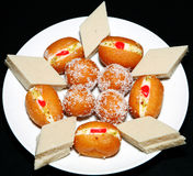 South asian sweets Royalty Free Stock Photos