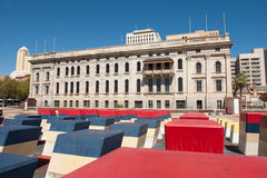 South Australian Parliment and Festival Plaza Royalty Free Stock Photo