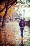 South Bank στη βροχή Στοκ φωτογραφία με δικαίωμα ελεύθερης χρήσης